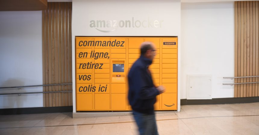 Amazon va installer ses consignes en gare de La Défense