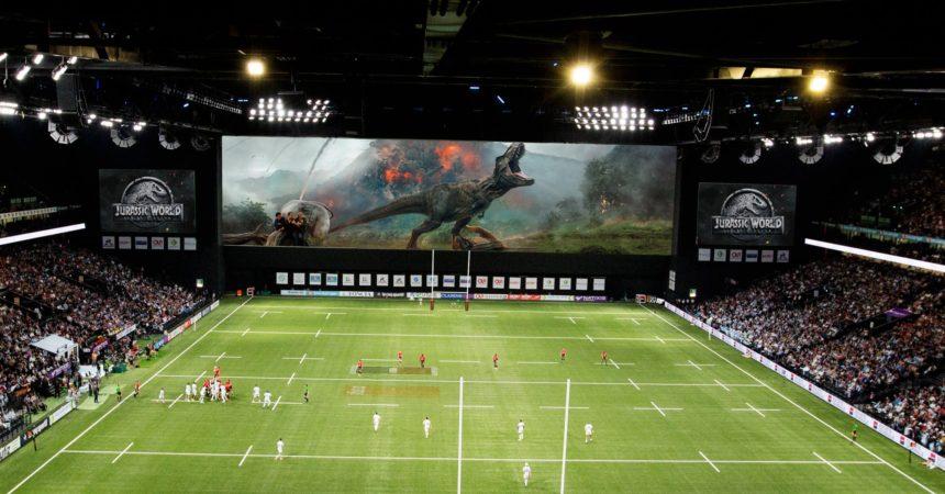 Universal va diffuser ses bandes annonces à la Paris La Défense Arena