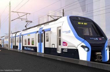 Les nouvelles rames du RER E se dévoilent