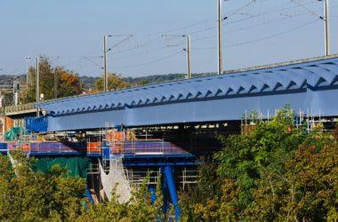 Transilien : sept semaines sans train pour remplacer le viaduc de Marly-le-Roi