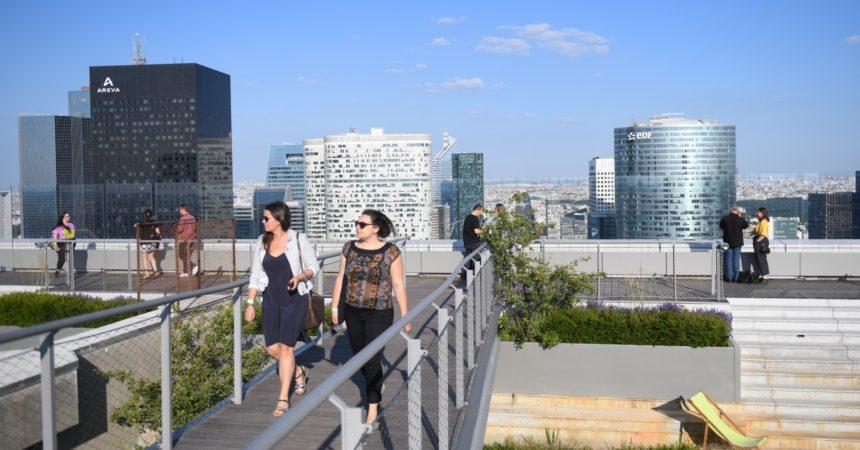 En un an le Toit de l'Arche s'est fait sa place dans les rooftops de la capitale