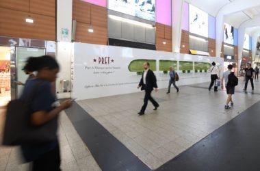 Pret A Manger débarque en septembre dans la gare de La Défense