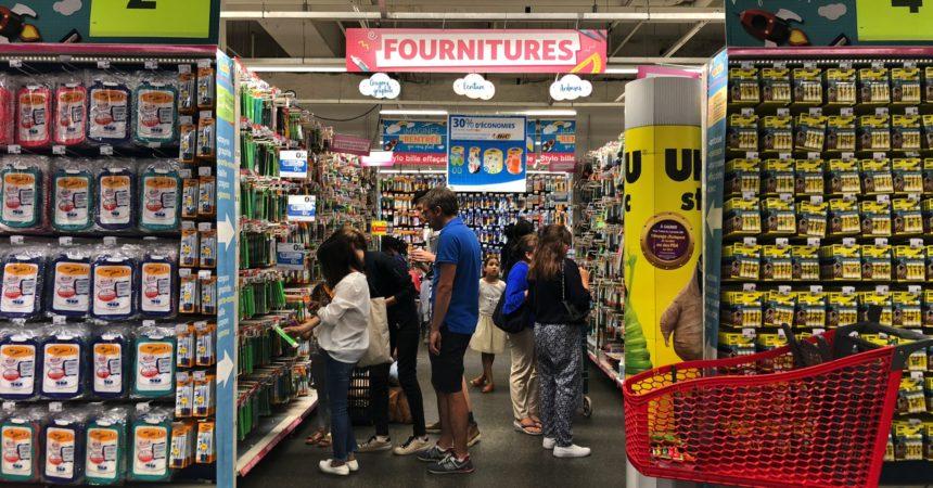 Rentrée scolaire : l'hypermarché Auchan des 4 Temps sera ouvert toute la journée du dimanche 2 septembre