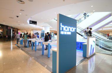 Aux 4 Temps Honor installe son tout premier pop-up store européen