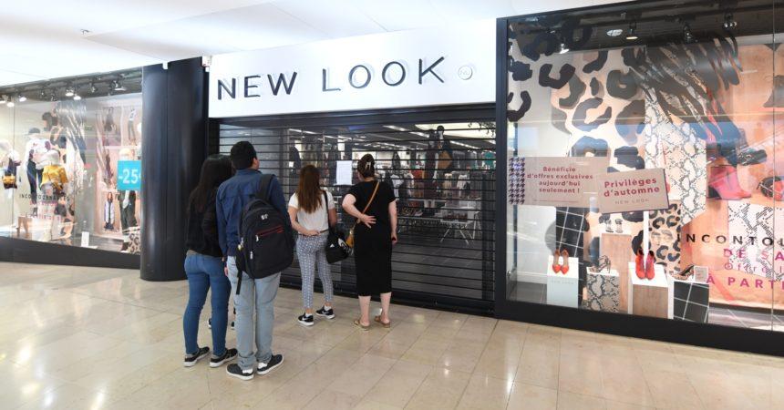 New Look veut fermer son immense boutique des 4 Temps