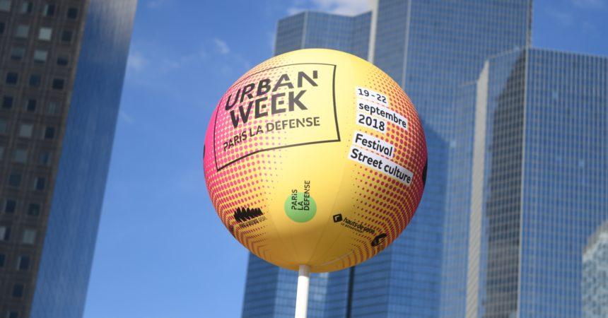 Avec l'Urban Week La Défense se révèle sous un autre jour