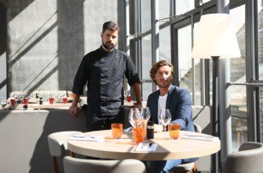 Une nouvelle équipe pour le restaurant du Toit de l'Arche