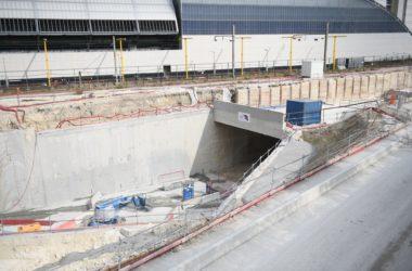 Chantier d'Eole : le tunnel s'ouvre vers Nanterre
