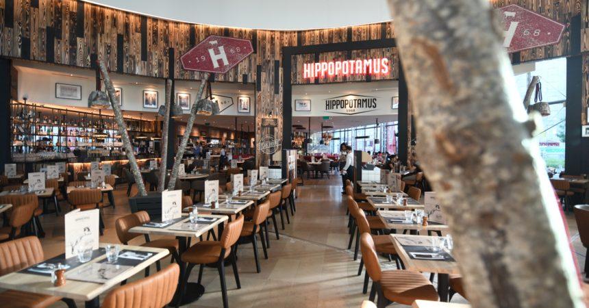 L'Hippopotamus des 4 Temps adopte le look du steak house