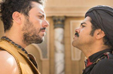 Kev Adams et Jamel Debbouze à l'UGC des 4 Temps ce dimanche pour l'avant-première d'Alad'2
