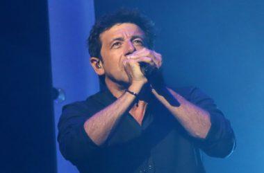 Patrick Bruel en concert à la Paris La Défense Arena en décembre 2019