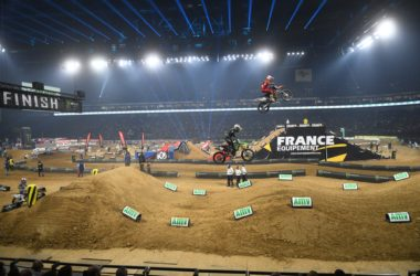 Supercross à l'Arena : l'américain Jason Anderson salué comme le « king of Paris »