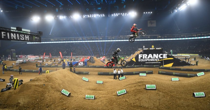 Supercross à l'Arena : l'américain Jason Anderson salué comme le «king of Paris»