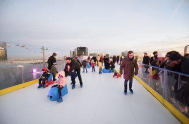 La patinoire va revenir sur le Toit de l'Arche