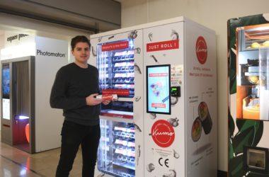 Ses rolls japonais vendus en distributeur automatique font un carton