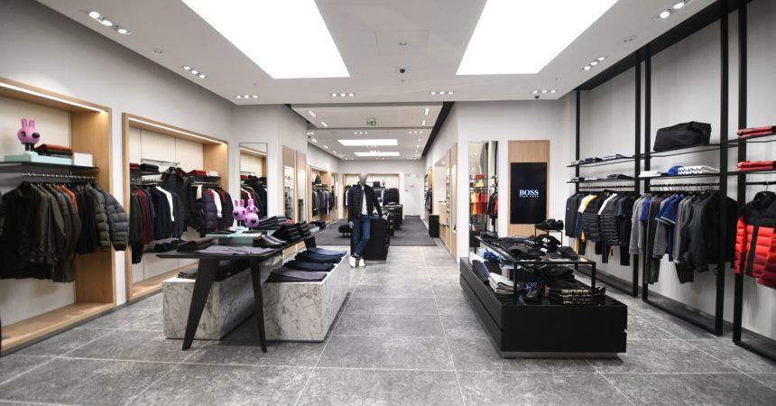 Hugo Boss débarque aux 4 Temps avec une nouvelle boutique