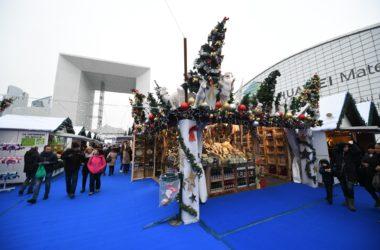Le marché de Noël de La Défense s'invite sur le parvis de La Défense