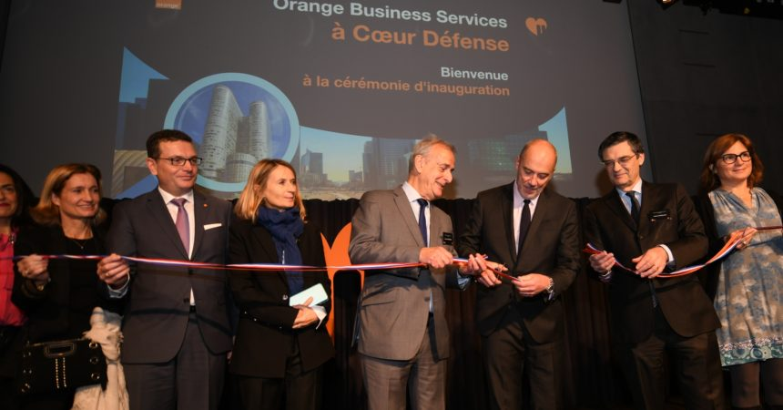 Orange Business Services inaugure à La Défense ses nouveaux bureaux