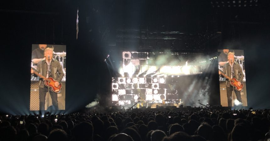 Paul McCartney a été magique à la Paris La Défense Arena