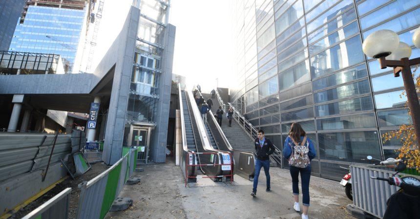 L'escalator de la Division Leclerc a enfin repris du service