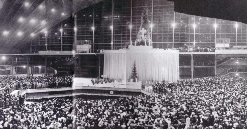 Le 24 décembre 1960 on a fêté Noël en version XXL au Cnit