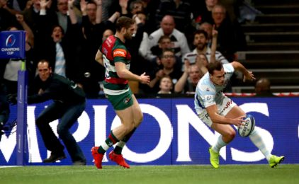 Champions Cup : le Racing 92 surclasse le Leicester