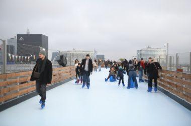 La patinoire de La Défense joue les prolongations