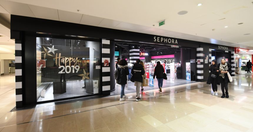 La boutique Sephora des 4 Temps se refait une beauté