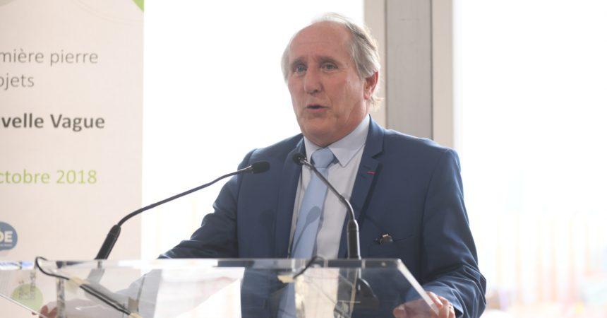 Patrick Jarry, veut rempiler pour un quatrième mandat à la tête de Nanterre