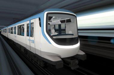 Le design des futurs métros des lignes 15, 16 et 17 du Grand Paris se dévoile
