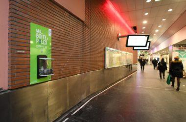 Vos vieilles piles pourront finir à la gare de La Défense