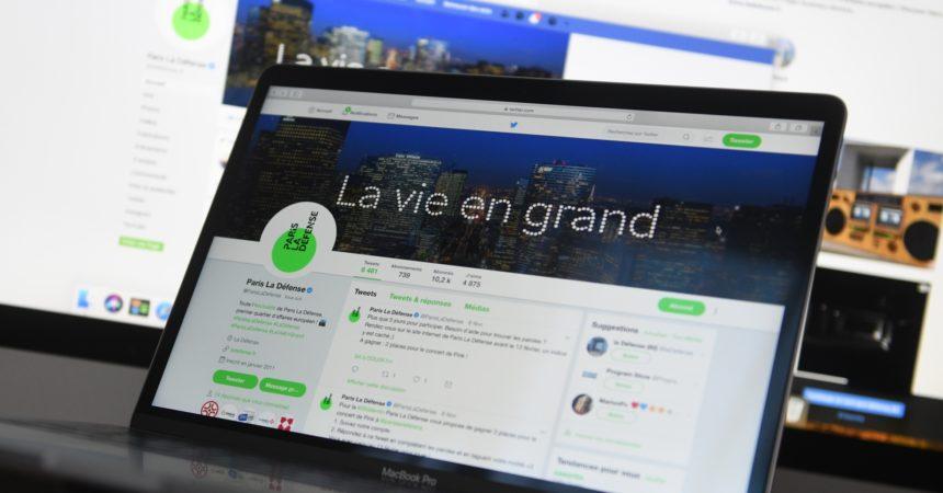 Paris La Défense cherche un community manager pour ses réseaux sociaux