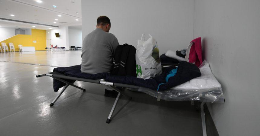 Pendant une semaine des sans-domicile ont pu trouver refuge à la Paris La Défense Arena