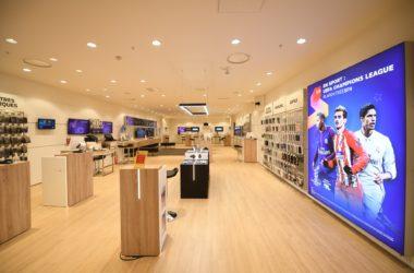 SFR s'offre une nouvelle boutique dans le centre commercial des 4 Temps