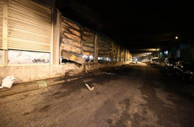 Cinq voitures incendiées sous le parking du croissant à Nanterre