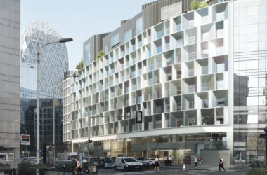 A Courbevoie Bouygues Immobilier va transformer Axe Défense en l'immeuble NE.ST