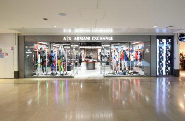 Après plusieurs mois de fermeture A|X Armani Exchange des 4 Temps a réouvert