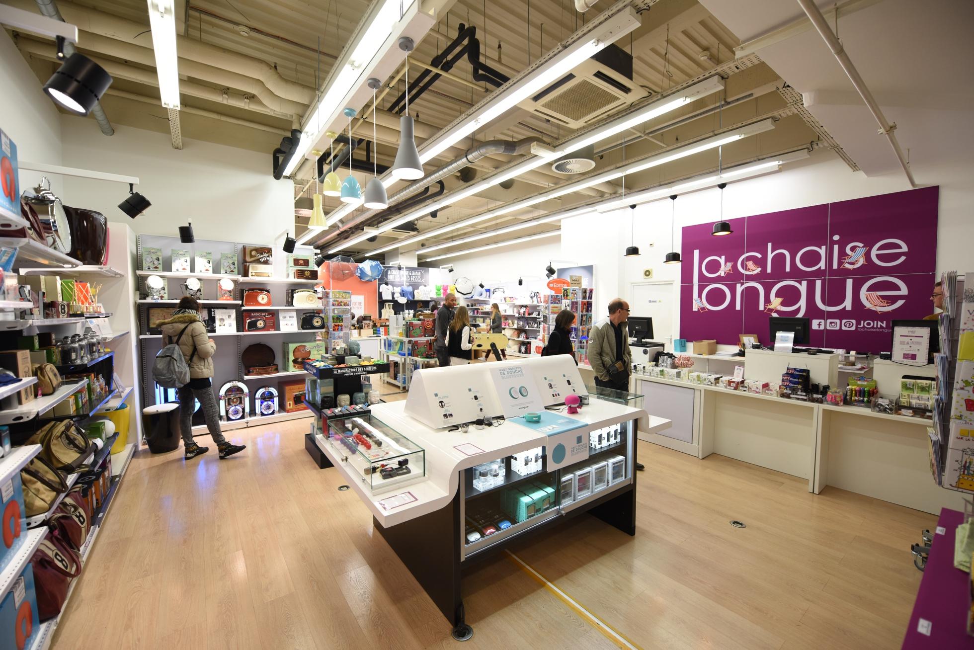 83bc026045 La Chaise Longue installe un pop-up store aux 4 Temps - Defense-92.fr