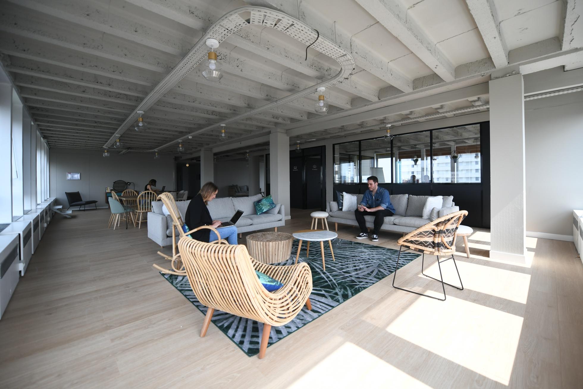 8ad2dada0d8b9 Morning Coworking a ouvert début mai un nouvelle espace dans le quartier  Bellini - Defense-